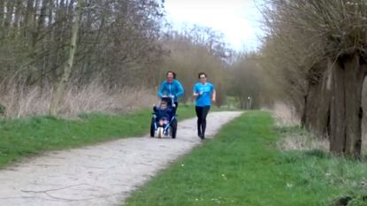 Dominiek Savio pakt uit met rolstoelvriendelijke Trail Run