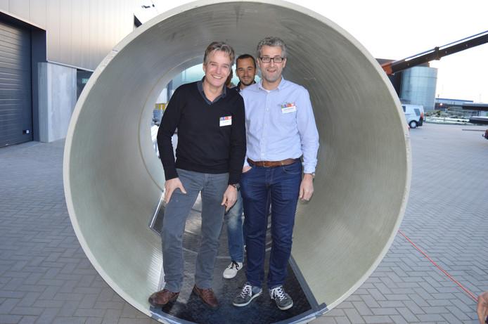 Bezoekers van verschillende bedrijven konden vorig jaar een kijkje nemen in het nieuwe onderkomen van Versteden B.V. in Bergen op Zoom.