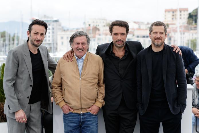 Michaël Cohen, Daniel Auteuil, Nicolas Bedos, Guillaume Canet