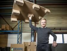 Nick ontwikkelt kartonnen pallets: 'Geen handen vol met splinters'