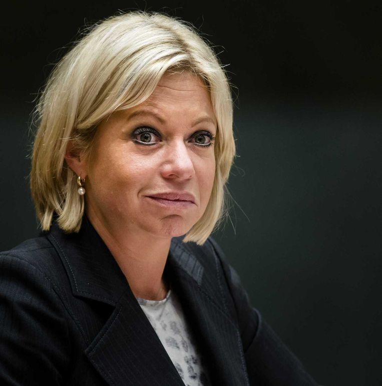 Minister Jeanine Hennis-Plasschaert van Defensie. Beeld anp