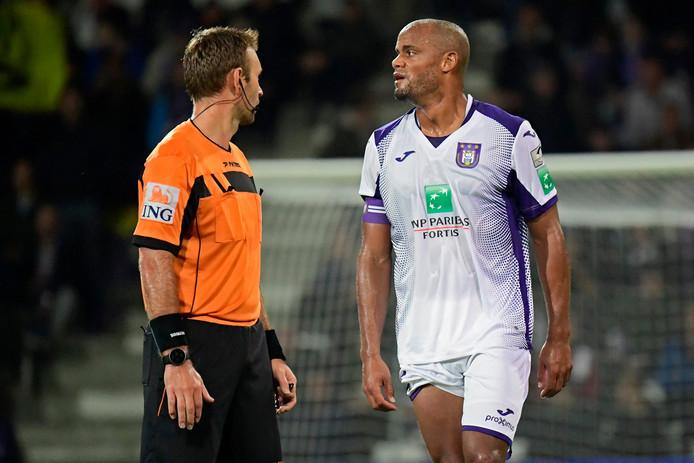 Vincent Kompany n'a plus joué depuis le match de Coupe au Beerschot, le 25 septembre dernier.