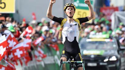 Tolhoek boekt eerste profzege in Zwitserland, indrukwekkende Bernal nieuwe leider