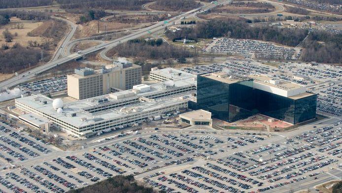 Le siège de la NSA dans le Maryland.