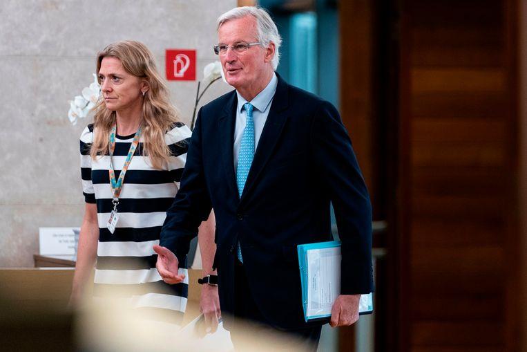 Europees onderhandelaar Michel Barnier.