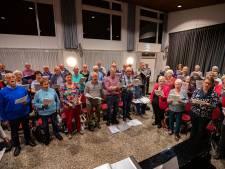 Zangkoor Zon en Zegen uit Biddinghuizen maakt leden gelukkig