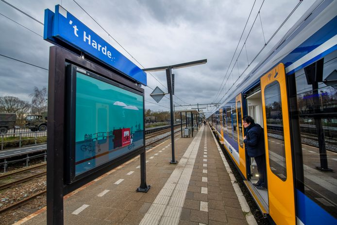 Station 't Harde moet de plek worden waar forensen hun auto laten staan, de A28-file mijden en verder reizen met de trein naar hun werk in Zwolle.