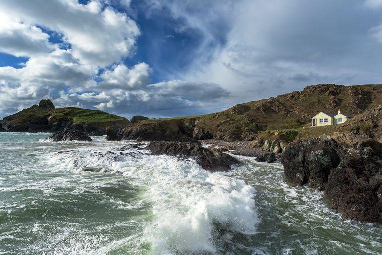 Kynance Cove in het Engelse graafschap Cornwall. Beeld Getty Images