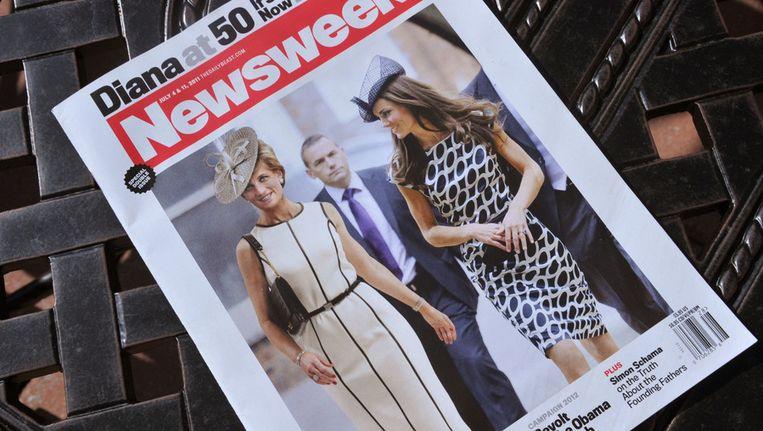 Een editie van Newsweek uit juni 2011. Beeld ANP
