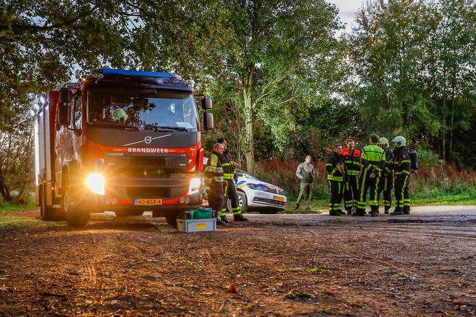 Vrachtwagen met drugsafval gevonden in Raamsdonksveer.