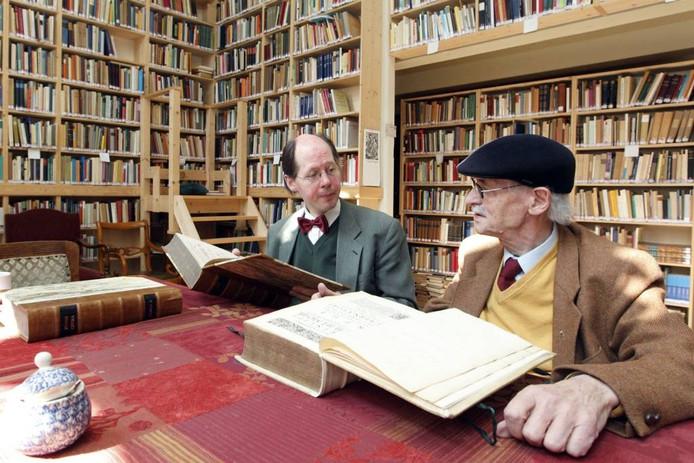 Jeroen Buve met zoon Sybrand, de drijvende krachten achter de GGU in Deventer en later Kampen