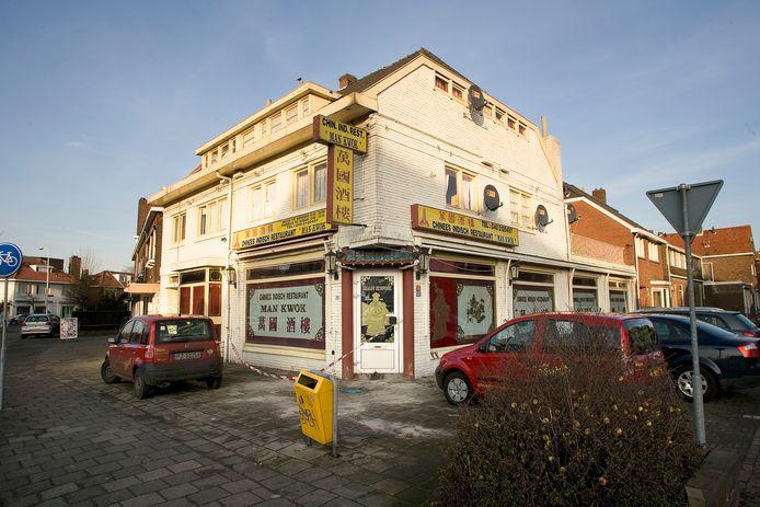 Chinees restaurant Man Kwok in Eindhoven sloot vijf jaar geleden de deuren. Het pand is gesloopt.