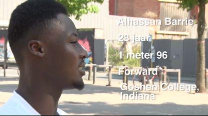 Alhassan Barrie één van de weinige Belgen die 'college basketball' speelt in Amerika
