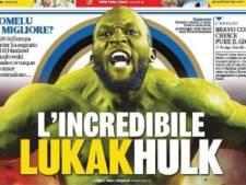 """""""L'incroyable Lukakhulk"""": Romelu Lukaku attire toute l'attention en Italie"""