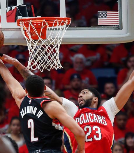 Pelicans door in play-offs NBA, Rockets onderuit