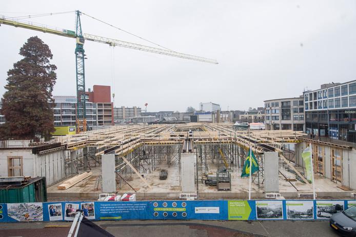 In Almelo wordt volop gebouwd aan de binnenstad.