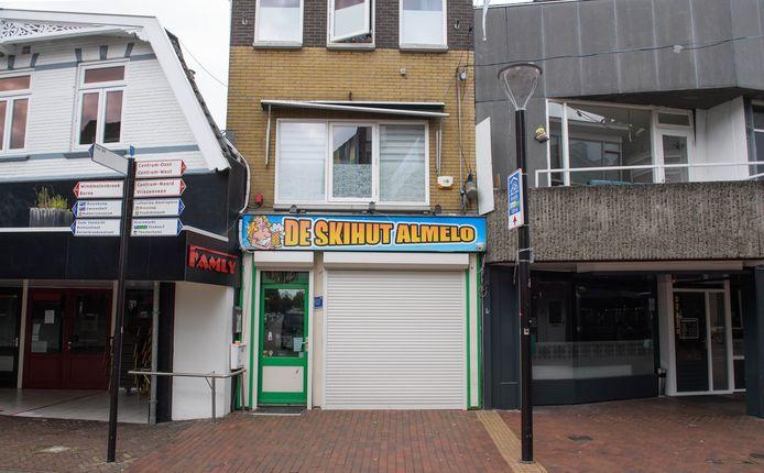 De Skihut is al een tijdje gesloten.