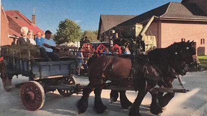 Gerestaureerde hooiwagen gestolen tijdens Halfoogstfeesten