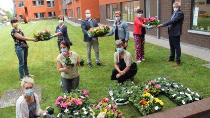 Lendelede schenkt bloemen aan woonzorgcentrum en zorgverstrekkers