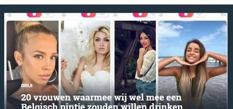 FHM onder vuur na ongevraagd plaatsen Tinderfoto's 'mooiste Vlaamse meisjes'