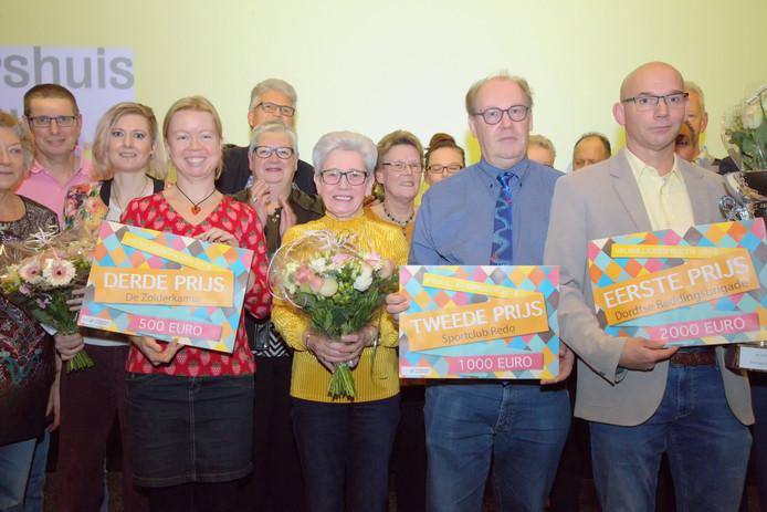 Vorig jaar ging de Vrijwilligersprijs Dordrecht naar de Reddisgsbrigade.