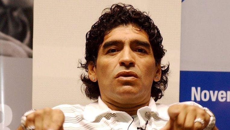 Het slechte spel van Argentinië tijdens de kwalificatiereeks voor Zuid-Afrika kostte bondscoach Alfio Basile al zijn baan. Maar onder leiding van Diego Maradona (foto) ging het van kwaad tot erger. Foto EPA Beeld