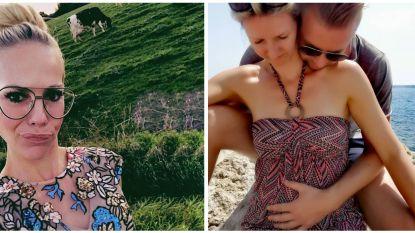 SHOWBITS. Nick en Veerle delen romantische babyfoto en Eline De Munck strandde tussen de koeien