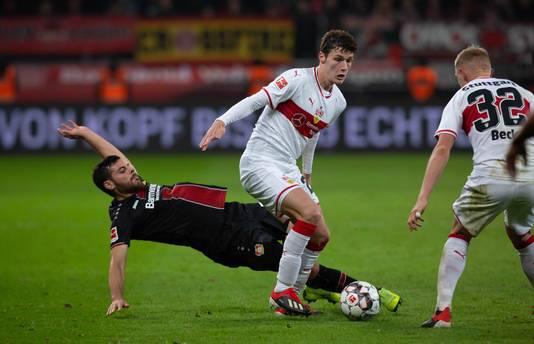 Benjamin Pavard maakt het seizoen af bij VfB Stuttgart.