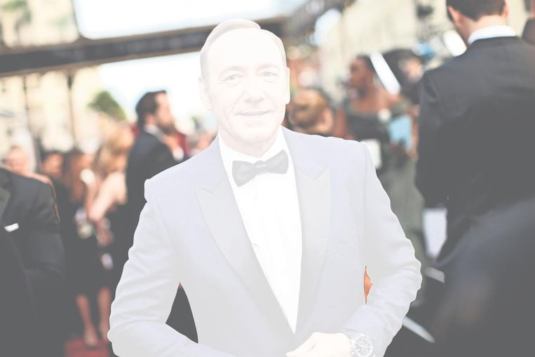 Kevin Spacey, Oscaruitreiking 2014. Beeld getty