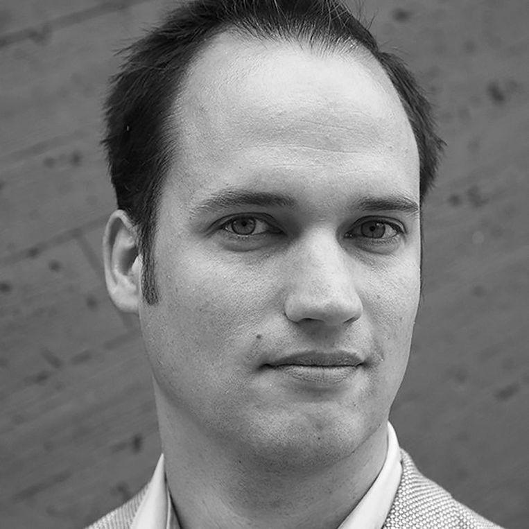 Bram Eidhof is oprichter van Schoolstrijd die onderzoek doet naar onderwijs. Beeld -