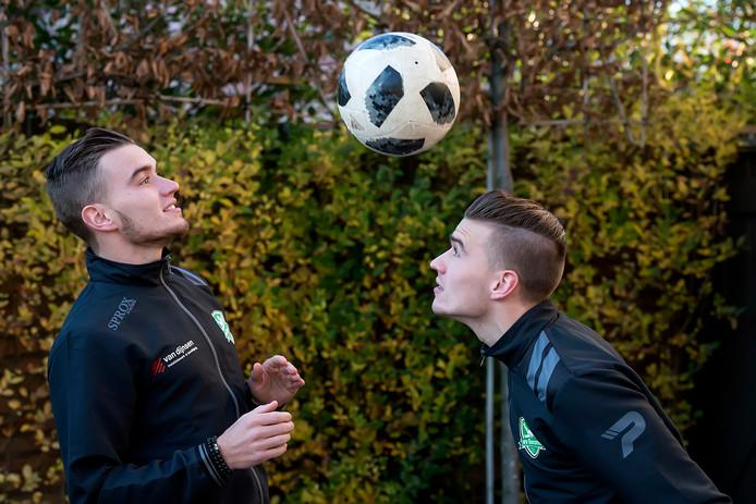 Sander (links) en Jens Wirix: de tweeling maakt nu naam bij Baronie.