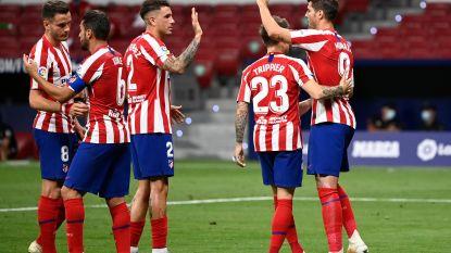 LIVE. Vlak voor rust scoort Morata z'n tweede, Atlético op weg naar makkelijke zege