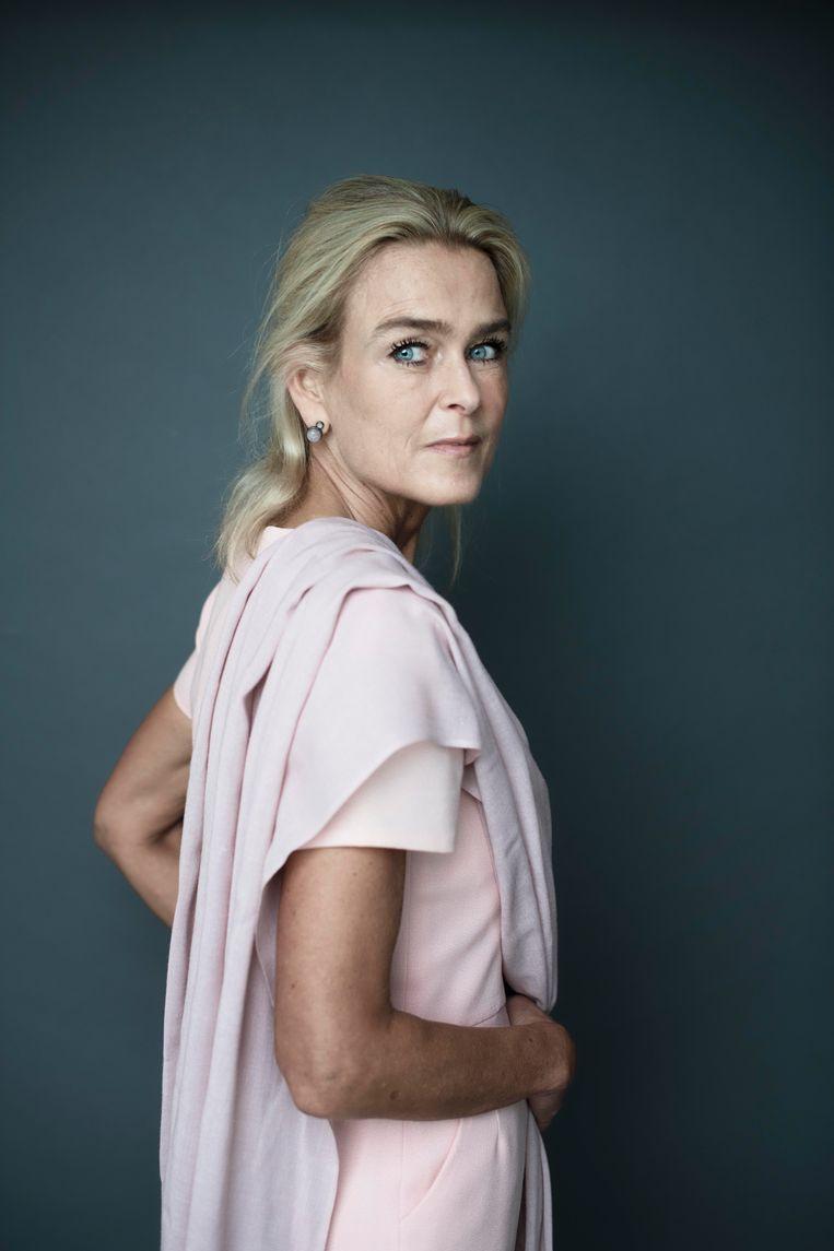 Barbara Baarsma: 'Ik ben geen strenge tante, ik zie hoe alles in elkaar grijpt.' Beeld Kiki Groot