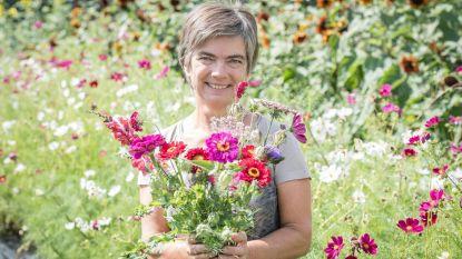 Martine opent bloemenpluktuin