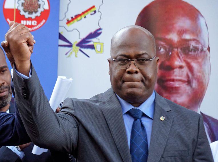 Félix Tshisekedi is door de kiescommissie uitgeroepen tot winnaar van de Congolese verkiezingen.