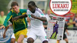 Nog voor zijn 16de bijna van AC Milan, erna volgde 'serieus' contract bij Anderlecht: de eerste keer van Lukaku op de sportcover van HLN