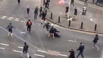 Hooligans gaan voor Europa League-duel op de vuist. Twee fans neergestoken in Glasgow
