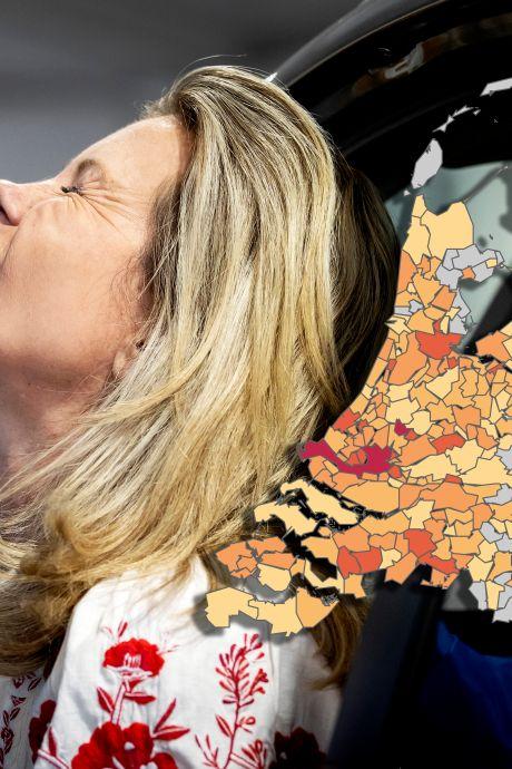 Meer coronabesmettingen in Gelderse steden maar geen ziekenhuisopnames, één patiënt in Tiel overleden