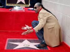 Snoop Dogg bedankt zichzelf bij sterceremonie
