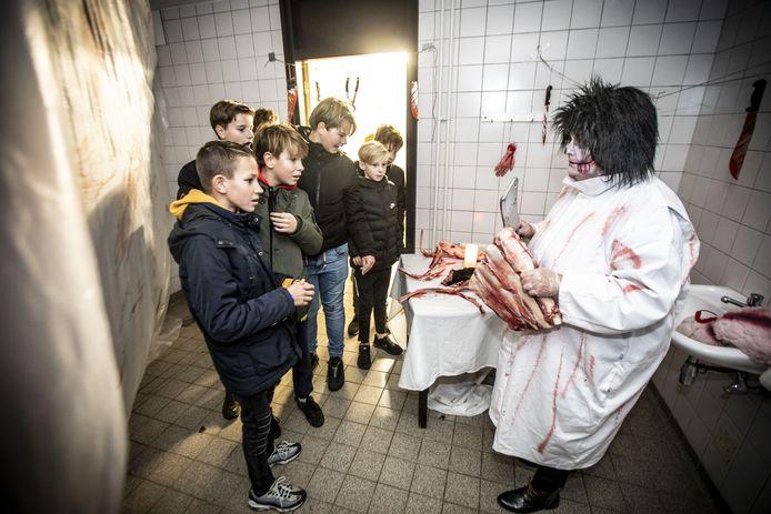Een Halloween spooktocht zoals vorig jaar in Oldenzaal zit er dit jaar niet in.