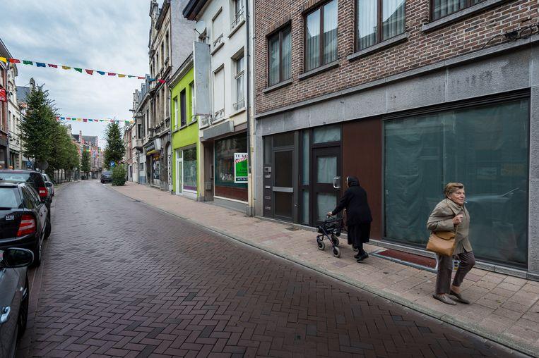 Een archiefbeeld van de Berlarij. De straat wordt weldra heraangelegd.