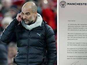 Le geste de grande classe de Pep Guardiola pour remercier 114 supporters de Manchester City