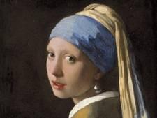 'Meisje met de parel' van Johannes Vermeer is genomineerd voor Pronkstuk van Nederland
