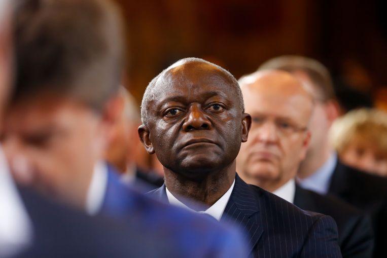Burgemeester van de gemeente Ganshoren, Pierre Kompany (cdH).