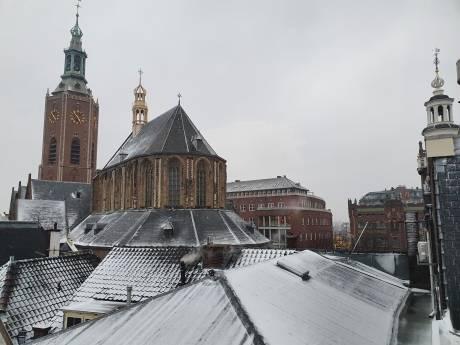Zo genoot Den Haag gisteren van de sneeuw
