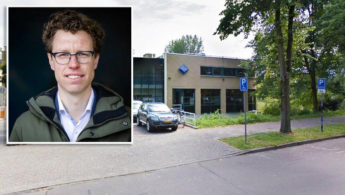 Martijn Balster, exterieur politiebureau Overbosch
