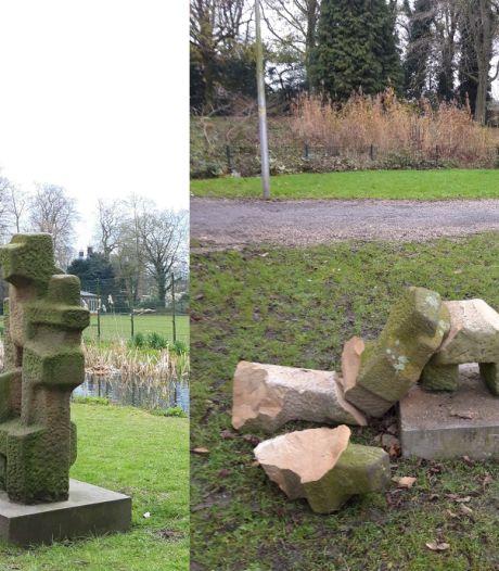 Gemeente doet aangifte na vernieling kunstwerk in park Oog in Al