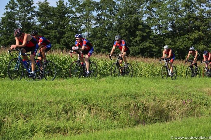 Stayeren tijdens een eerdere editie van de Run Bike Run.