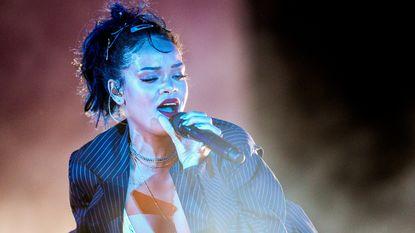 Rihanna heeft filmrol naast Cara Delevingne te pakken