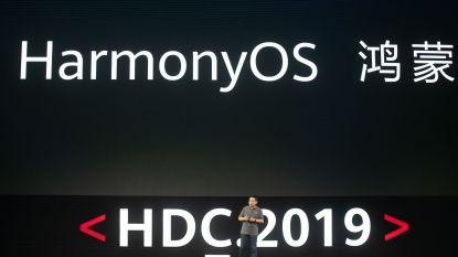 """Huawei presenteert eigen besturingssysteem HarmonyOS: """"Overstap van Android kan onmiddellijk"""""""
